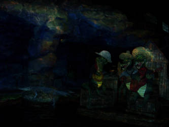 Life After Disney: Splash Mountain inside by eledoremassis02