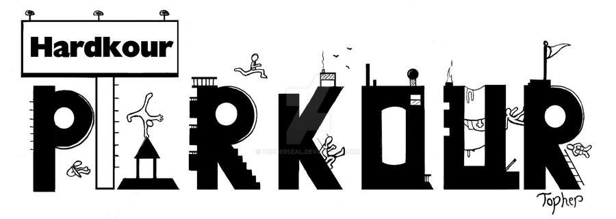Hardkour Parkour Logo By TopherSeal