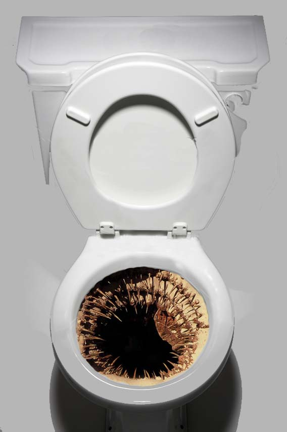 Star Wars: The Almighty Sarlacc Toilet Decal by TopherSeal
