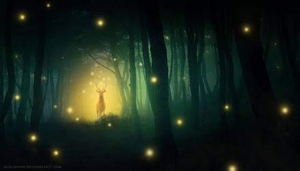 spirits by Blaumohn