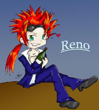 Chibi Reno :p by Screwthestars