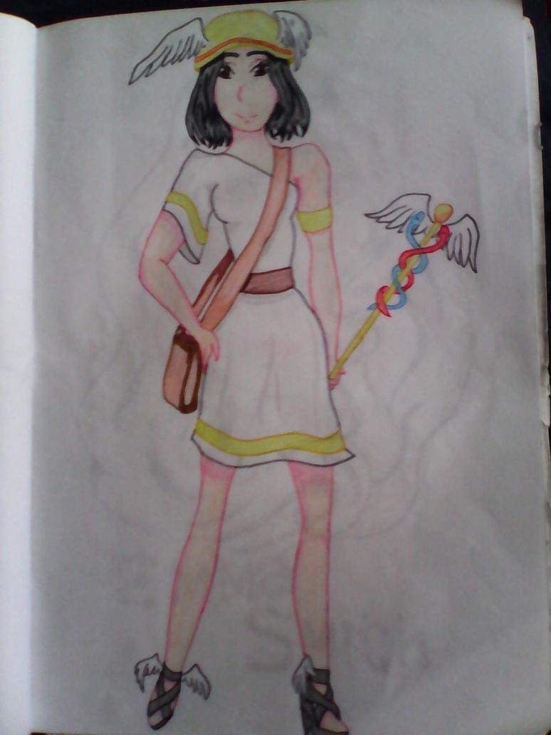 Fem!Hermes by Neko-Len-Chan