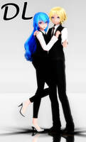 [MMD + DL] TDA Formal Miku and Len
