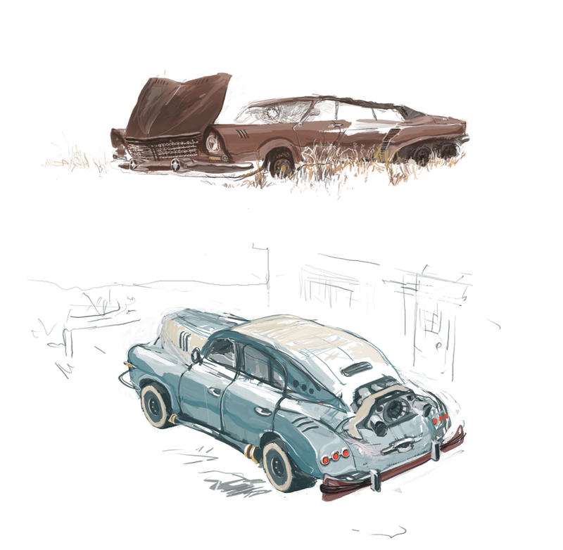 Cars for Fallout  rus mod by DartGarry