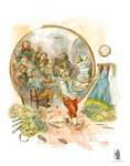 illustration the Hobbit chapter I. Poor Bilbo