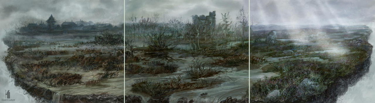 Eador Swamps by DartGarry
