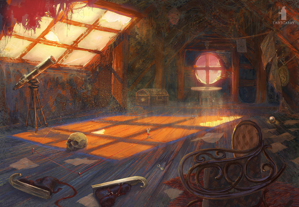 Mysterious Signs- loft by DartGarry