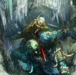 Witcher 3 fan art
