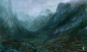 ravine by DartGarry
