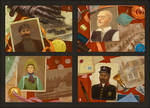 Tajemnicze Domostwo characters set 1