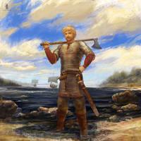 warrior of Volga River by DartGarry