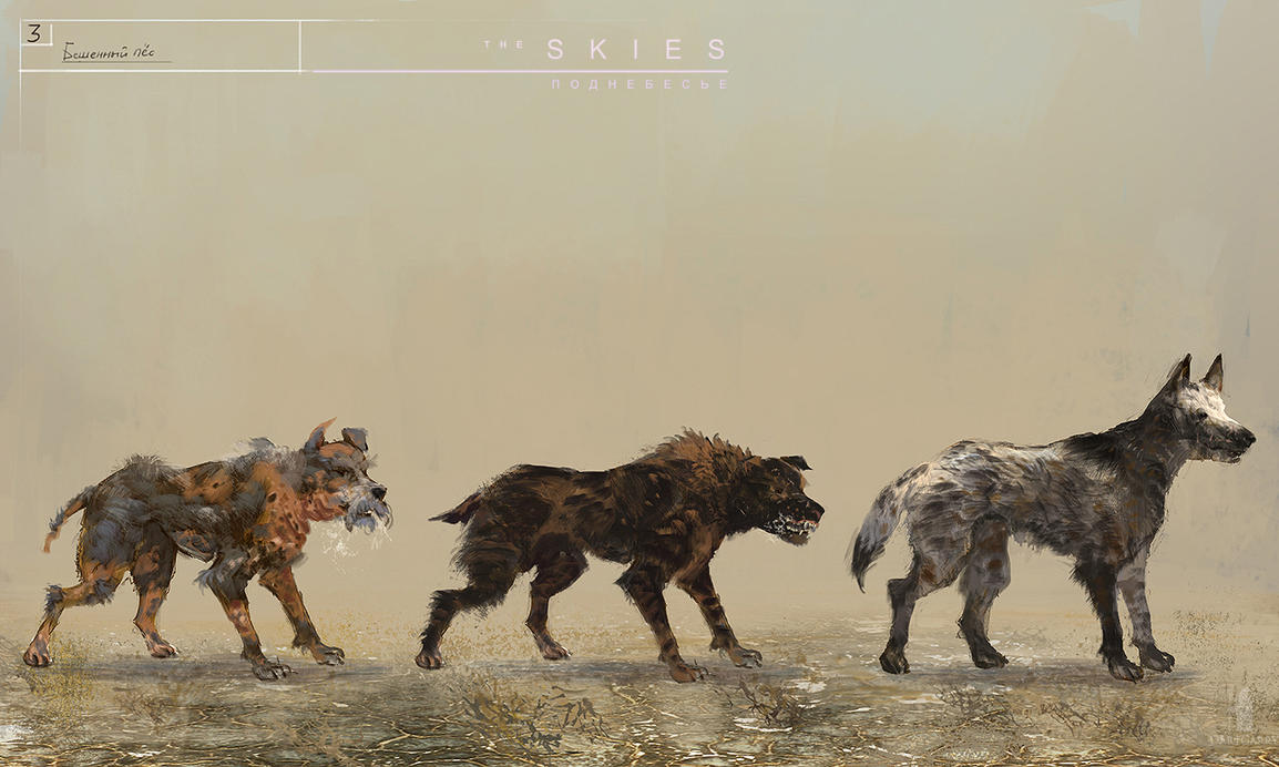 The Skies concept Rabid Dogs by DartGarry