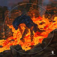 Lava walker by DartGarry