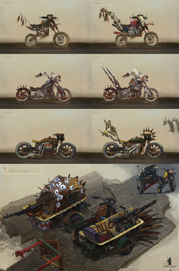 The Skies Concept Moto set by DartGarry