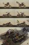 The Skies Concept Moto set