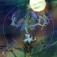 Moonlight dancing by DartGarry
