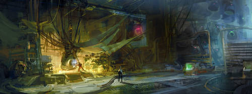 Hub capsule station by DartGarry