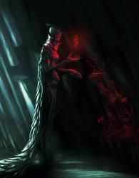 Dark Priest by gourger