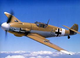 Bf-109 WW2 plane