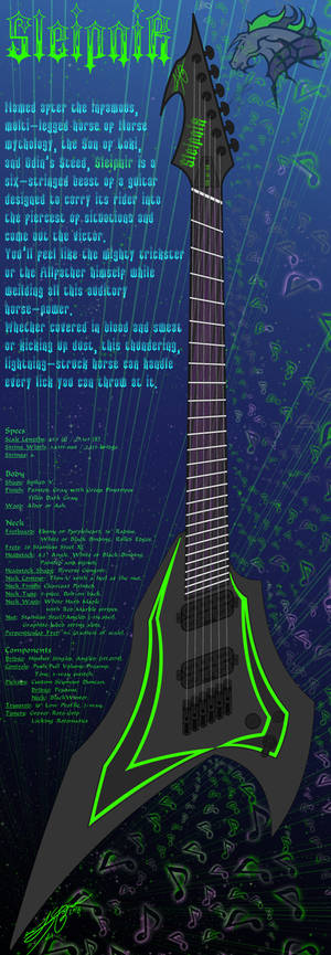 Sleipnir Fannedfret Guitar
