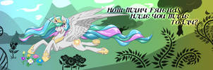Princess Celestia longboard graphic