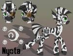 Commission - Nyota FoE Character Sheet