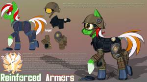 Commission - WSunrise New Armor