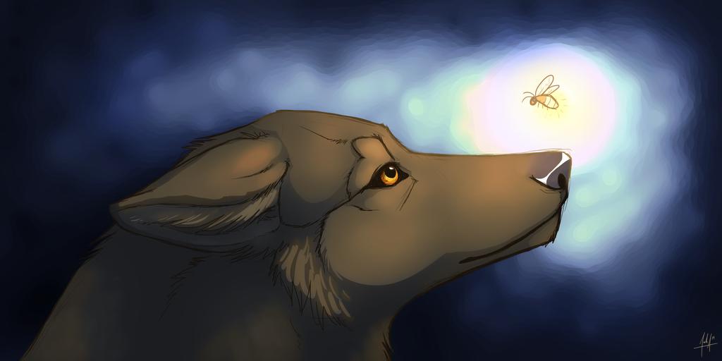 Firefly - Gift Art by VexiWolf