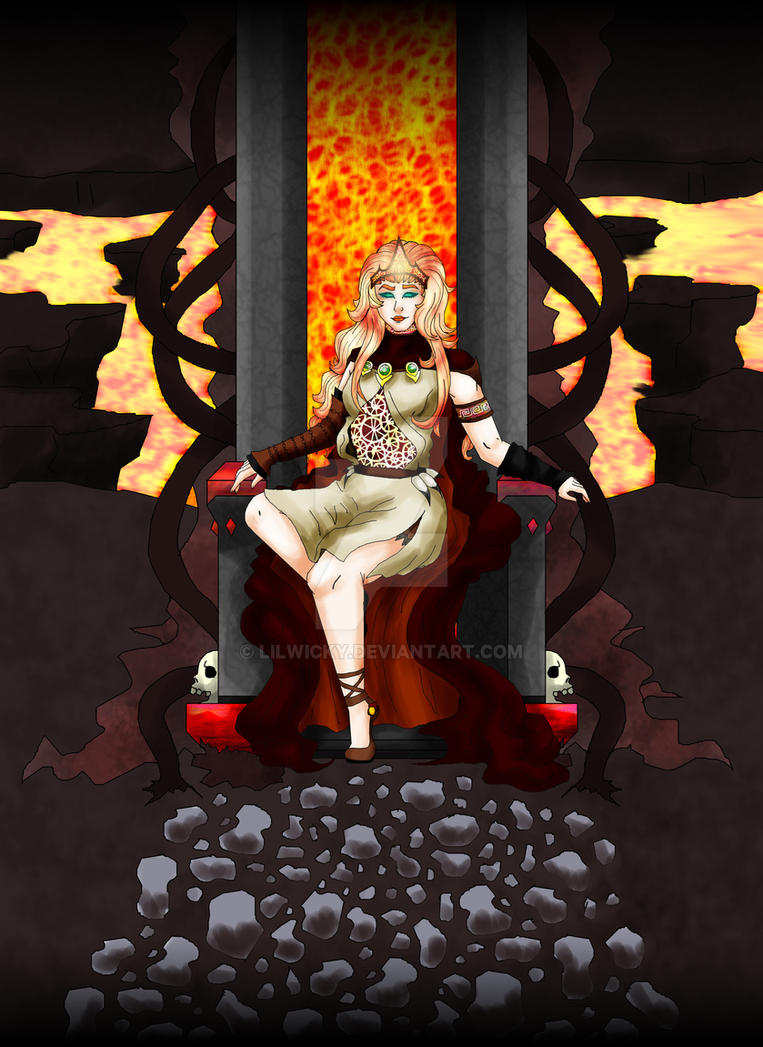 Throne Of Flames by LilWicky