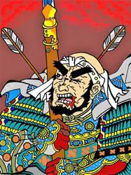 Yamamoto Kansuke by migucain