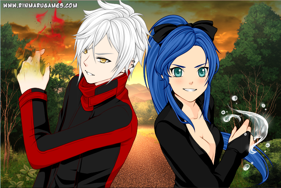 dress up games anime partners