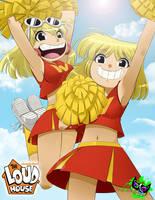 The Loud House - Cheerleaders by Silent-Sid