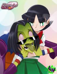 Powerpuff Girls Doujinshi - Ace X Buttercup by Silent-Sid