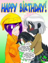 Sid and Lether - Happy B-Day Bleedman!