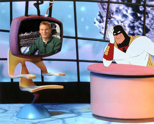 Mike on Space Ghost by jsparrow4