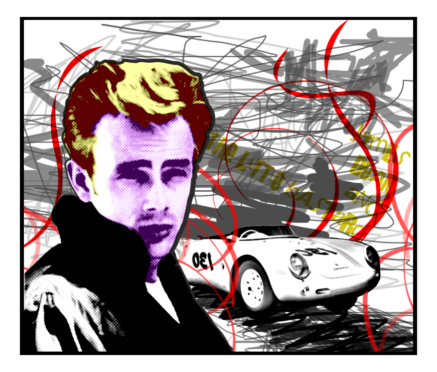 Photos Of James Dean And The Little Bastard: James Dean And Little Bastard By HollyLilith On DeviantArt