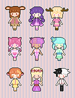Tiny pixel adopt sheet by fuchsiasquid