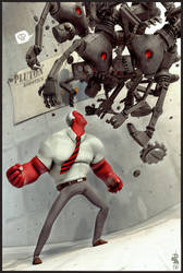 Maximus Red by digitalrebelstudio
