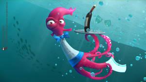 Underwater waiter