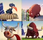 Toon animals