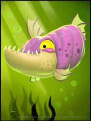 Odd Fish by digitalrebelstudio