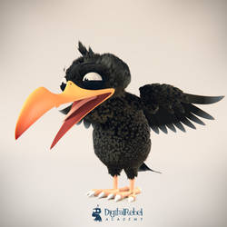 Snapjaw bird free character