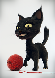Little cat, free model to download