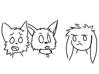 CartoonFoxSquad1.2 by NightOwlFennec