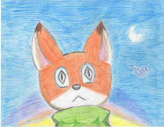 FoxOutInTheMorningSunrise by NightOwlFennec