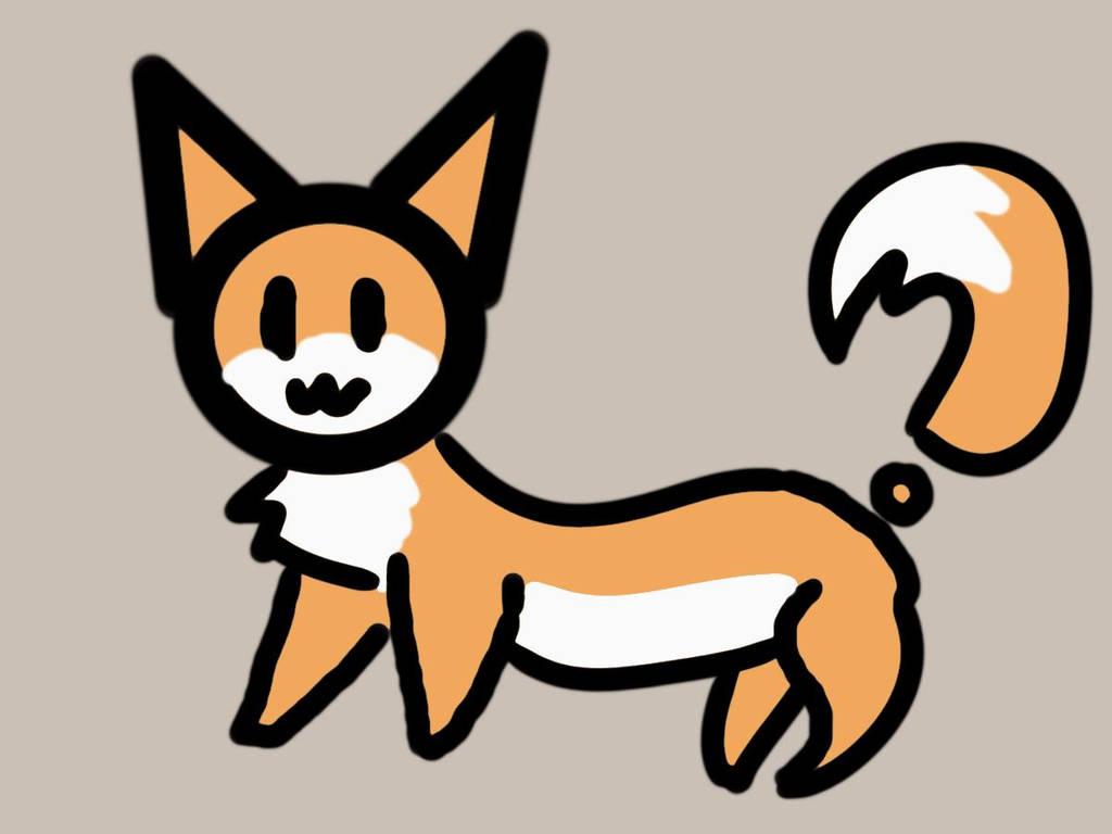 Long Questioning Fox by NightOwlFennec