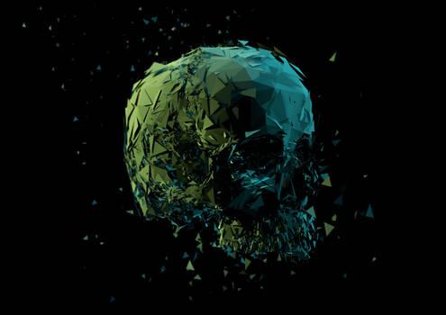Skull Print Really Big