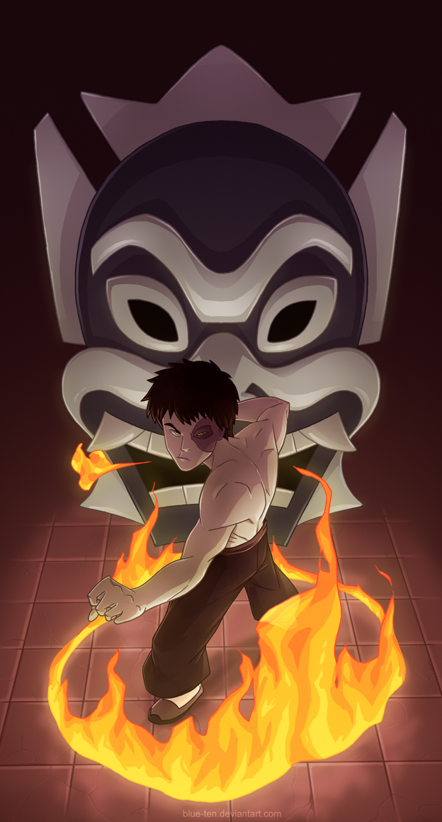 Two Sides - Zuko by Blue-Ten