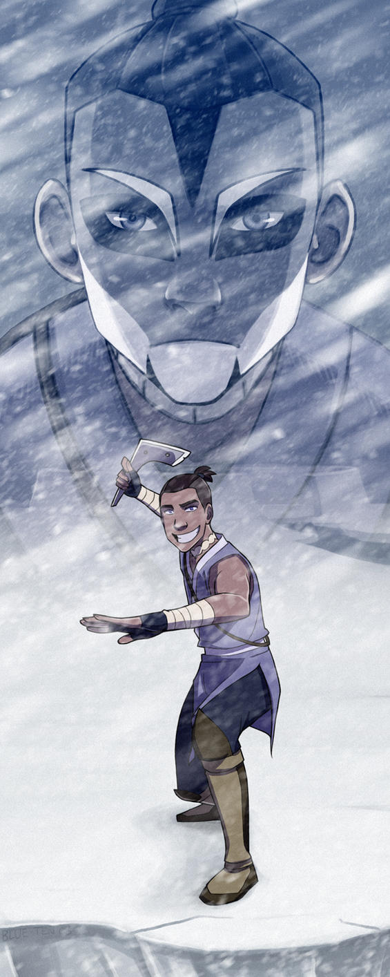 Two Sides - Sokka by Blue-Ten