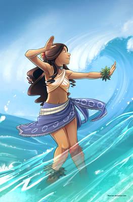 Waterbending - Hula